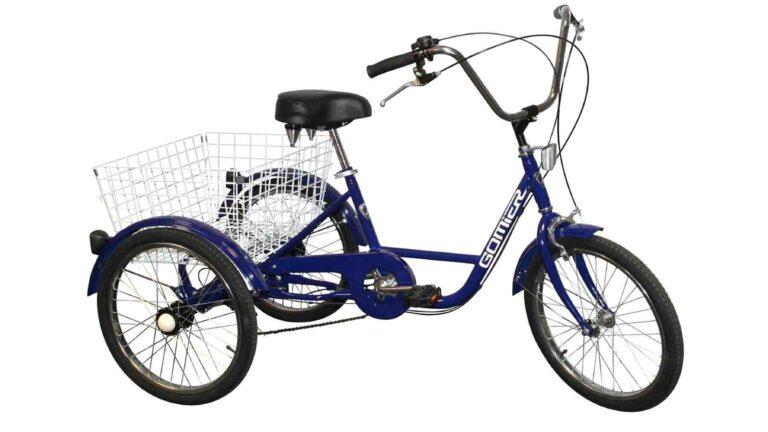 Tricycle adulte electrique